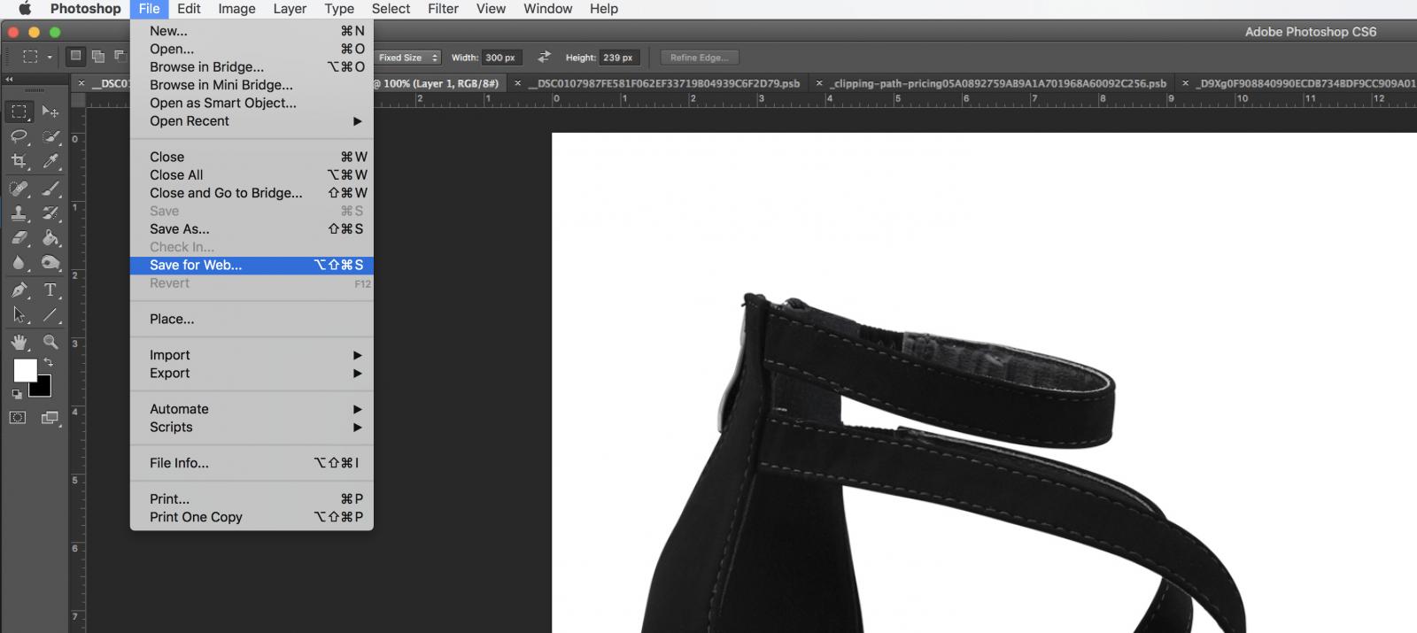 Photo resizing tutorial