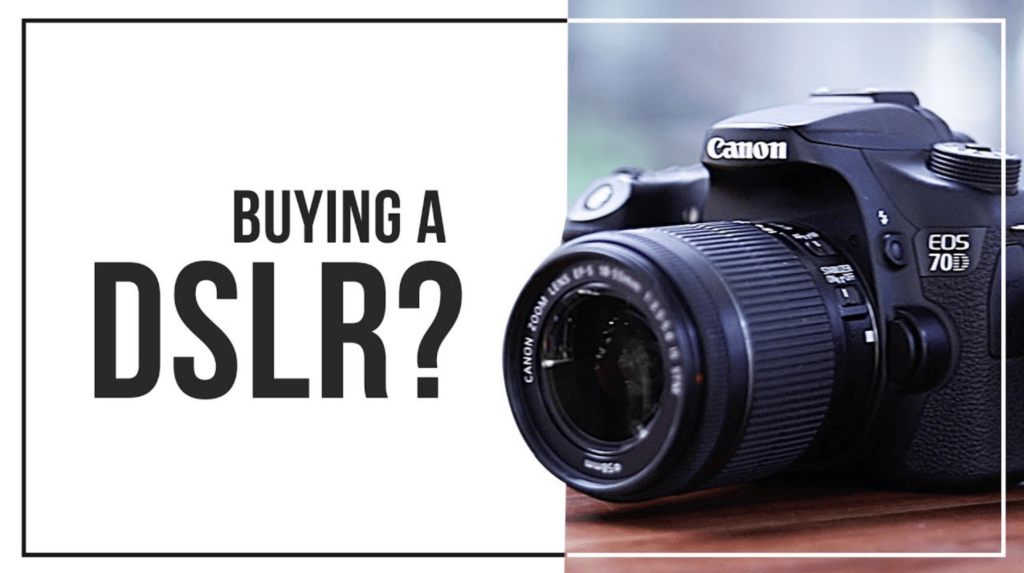 Things we need to know before buying a camera